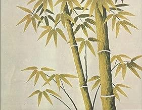 Tokyo Bunka Shishu 415 Green Bamboo Japanese Punch Embroidery Kit