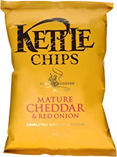 mature cheddar and onion crisps