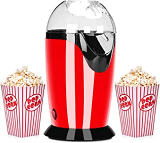 Podazz La Machine à pop-corn électrique-1200 watts peut Faire de Délicieux pop-corn en 3 Minutes, avec une Cuillère Doseus...