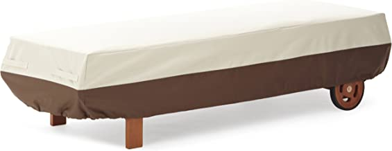 AmazonBasics Chaise Outdoor Patio Lounge Cover