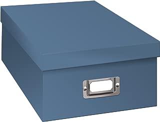 Pioneer Photo Albums B-1S/SB B-1S Photo Storage Box, Sky Blue