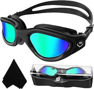 عینک شنا قطبی شنای شنا ضد مه و ضد اشعه ماورا UV بنفش بدون نشت بدون دید برای مردان زنان بزرگسالان نوجوان