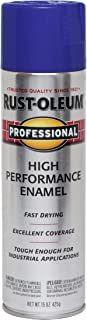 Rust-Oleum 7527838 Professional High Performance Enamel Spray Paint, 15 oz, Royal Blue