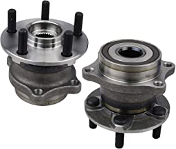 Bodeman - Pair 2 Rear Wheel Bearing and Hub Assembly for 2009-2013 Subaru Forester / 2010-2014 Subaru Legacy / 2010-2014 Subaru Outback / 2013-2016 Scion FR-S