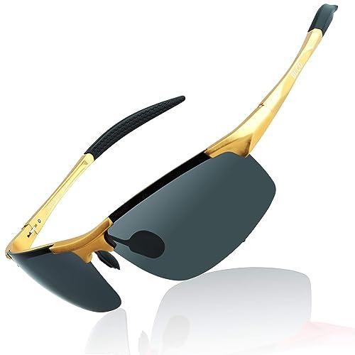 d5e0164e49ee DUCO Mens Sports Polarized Sunglasses UV Protection Sunglasses for Men 8177s
