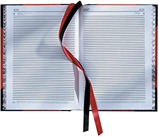 Collins Desk - 2020 Diary - A4 Two Pages a Day - Red