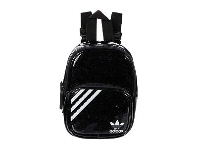 adidas Originals Originals Glitter Mini Backpack (Black Multi Glitter) Backpack Bags