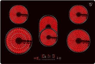 K&H 5 Zonen Glaskeramikkochfeld 77cm Elektro Autark rahmenlos NC-8608