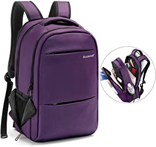 LAPACKER 15.6-17 inch Business Laptop Backpacks for Women Mens Water  Resistant Laptop Travel Bag 1b666494b9ac6