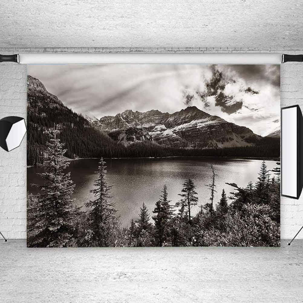 7x7FT Vinyl Backdrop Photographer,Zoo,Happy Animals Fresh Trees Photo Backdrop Baby Newborn Photo Studio Props