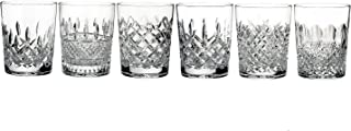 Waterford Lismore Connoisseur Heritage Set of 6 Double Old-Fashioned Glasses