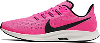 Nike Air Zoom Pegasus 36 Men's Running Shoes, Pink Blast/Vast Grey/Atmosphere Grey/Black
