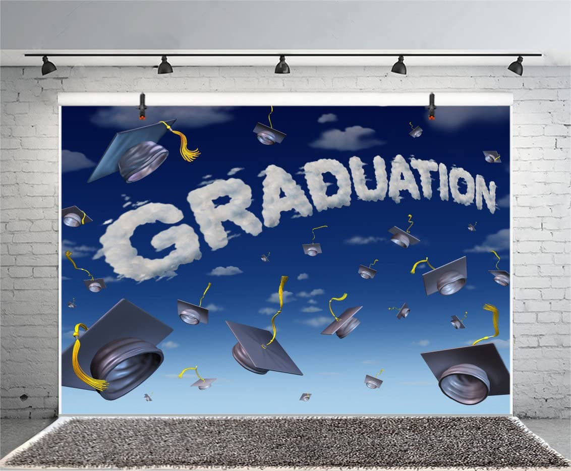 90x150cm 2505 3D Graduation Season Blackboard Photo Background Party Backdrop Print Photography Backdrop Mural Wall Backdrop for Studio Photo Booth