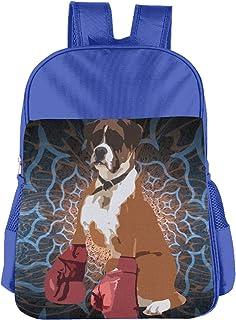 Boxer Dog Children's Bags Kid School Bag Boy Girl Backpack