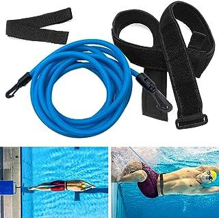 Zhipeng Swim Training Belts Swim Bungee Cords Resistance...