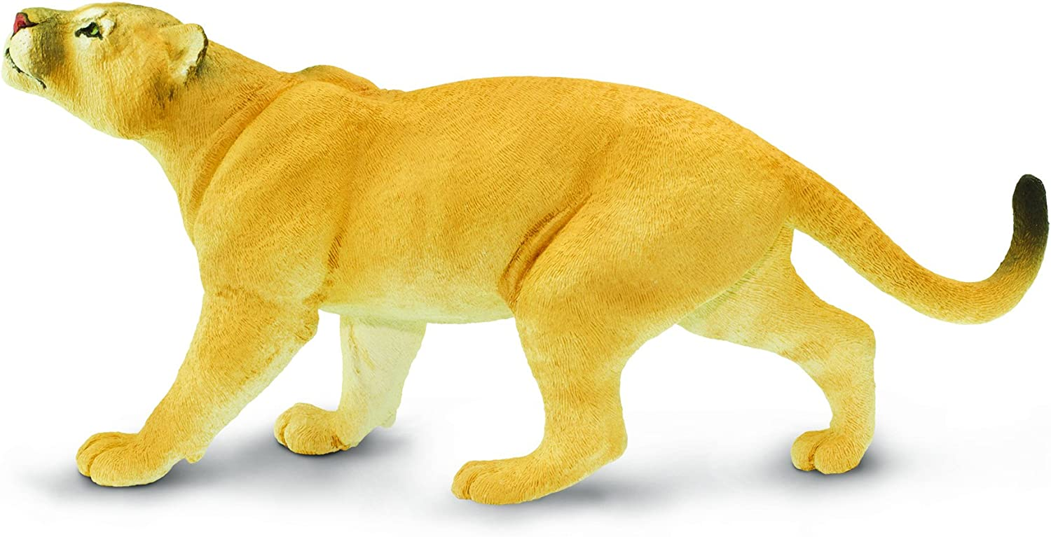 Safari Ltd. Wildlife Collection - Puma Concolor Toy Figure - Non-Toxic and BPA Free - Ages 3 and Up