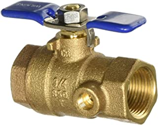 #1 Test Port/Ball Valve 3/4 X 3/4 (TAPPED); Various Manufacturers
