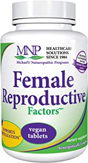 Michael's Naturopathic Programs Female Reproductive Factors - 120 Vegan Tablets - Nutrients to Support Healthy Contracepti...