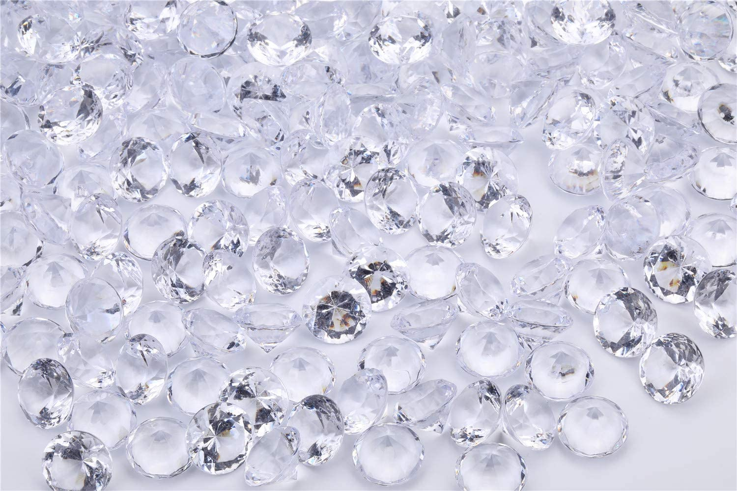 Angzhia Acrylic Diamond Very popular Vase Fillers 1 Pound pcs 285 5 Challenge the lowest price - Inch 4