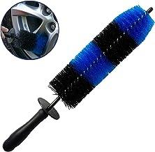 LUCKLYJONE Wheel Brush, Easy Reach Wheel and Rim Car Detailing Brush, Soft Bristle Rim Tire Brush, Multipurpose use for Wh...