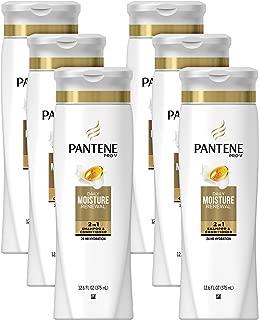 Pantene Pro-V Daily Moisture Renewal 2in1,12.6 Fl Oz,Pack of 6