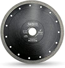 DT-DIATOOL Turbo Mesh Diamond Blade 8 inch with X Rim Segment Cutting Tile Porcelain