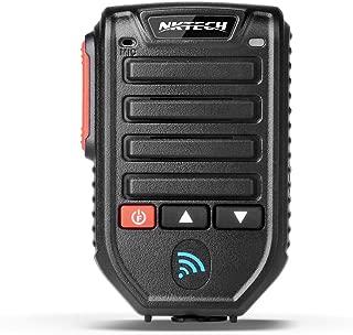NKTECH 32.8' BT-89 Wireless Bluetooth Microphone Speaker Mic 10-Meters Receive for QYT KT-8900D KT-7900D KT-8900 KT-8900RE KT-UV980 Plus Car Trunk Ham Mobile Transceiver