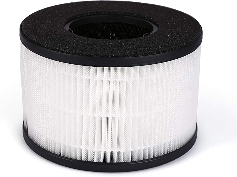 PARTU BS 03 HEPA Air Filter Replacement Filter 3 In 1 Filtration System Include Pre Filter True HEPA Filter Activated Carbon Filter