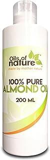Aceite de Almendras Dulces – 100% Puro Y Natural –