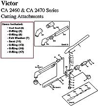Victor CA2460 & CA2470 Cutting Torch Rebuild/Repair Parts Kit