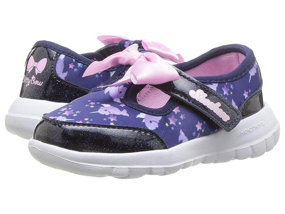 SKECHERS KIDS Go Walk Joy Sparkle Squad 81181N (Infant/Toddler/Little Kid) (Navy/Multi) Girl