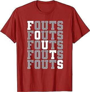 Fouts #14 softball t-shirt
