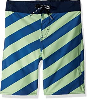 Volcom Little Boys' Stripey Elastic 12.5 Adjustable Waist Boardshort