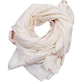 EthnicAlive Bhagalpuri Ethnic Large Gamcha Towel Pure White