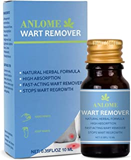 Avashine Wart Removal, Painlessly Removes Common, Hand and Plantar Wart Remover, Maximum Strength Wart Liquid, Strong & Effective Wart Infection Treatment