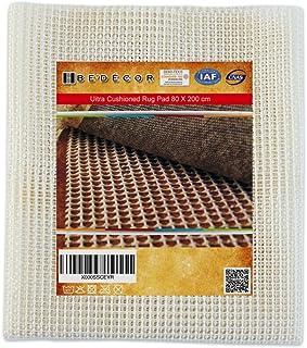 Bedecor Base Antideslizante para Alfombras,Protección contra Resbalones,Corte Simple,Fácil de Limpiar (200 x 80cm)