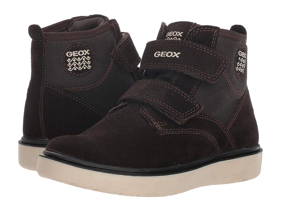 b6a1c28cc8e Geox Kids Riddock 2 (Little Kid Big Kid) (Brown Navy) Boy s Shoes