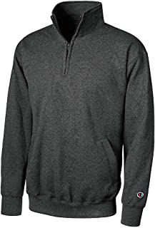 Adult 9 oz. Double Dry Eco? Quarter-Zip Pullover-Light Steel