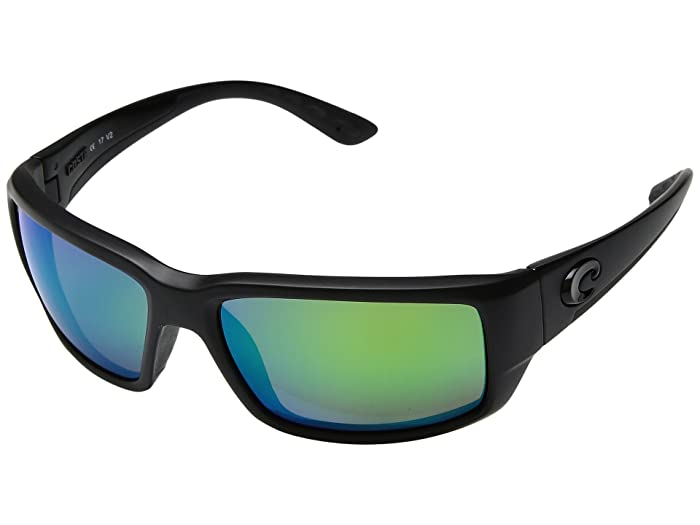 Costa  Fantail (Blackout Frame/Green Mirror 580P) Fashion Sunglasses