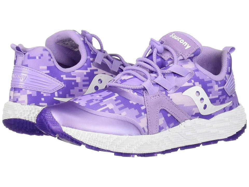 Saucony Kids Voxel 9000 (Little Kid/Big Kid) (Purple) Girls Shoes