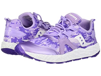 Saucony Kids Voxel 9000 (Little Kid/Big Kid) (Purple) Girls Shoes