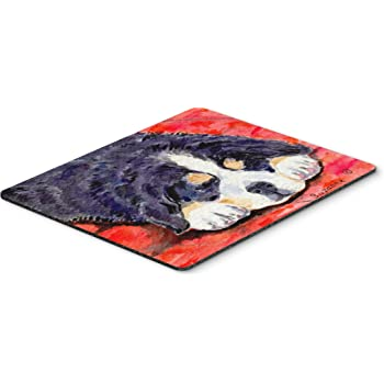 Hot Pad or Trivet Multicolor Carolines Treasures BB5523MP Bernese Mountain Dog Welcome Mouse Pad Large