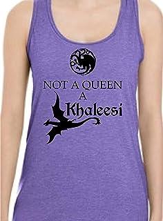 """Game of Thrones""""Not a Queen, a Khaleesi"""" Tank Top"""