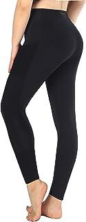 Sugar Pocket Women's Workout Pants Yoga Running Leggings with Side Pockets
