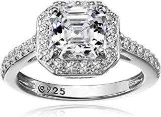 Best white gold engagement rings cubic zirconia Reviews