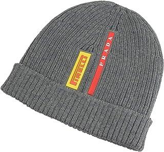 [プラダ] PRADA 帽子 ニット帽 ニットキャップ メンズ アウトレット ブランド [並行輸入品]