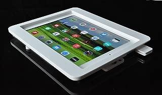 iPad AirホワイトアクリルVESA POS、キオスクShow、ストア表示、セキュリティのエンクロージャSquareカードリーダー