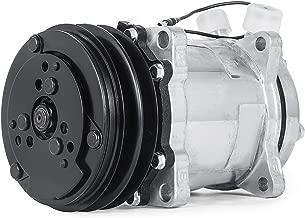 Mophorn AC Compressor & Clutch Replaces Sanden SD508 Model for CO 4510C Freightliner ABPN83304052 Mack 4510SAN 304052 Kenworth 4509 4510 6626 6664 6668