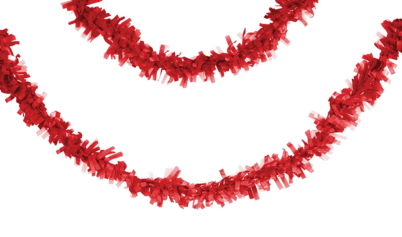 Creative Converting 315314 Party Supplies, 25', Classic Red