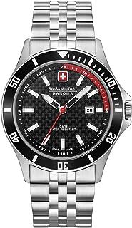 Swiss Military Hanowa - Reloj Analógico para Unisex Adultos de Cuarzo con Correa en Acero Inoxidable 06-5161.2.04.007.04